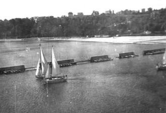 S/y Młoda Gwardia- wrzesień 1952 rok.