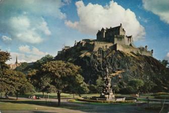 Chrobrym do Szkocji `59 Edynburg.