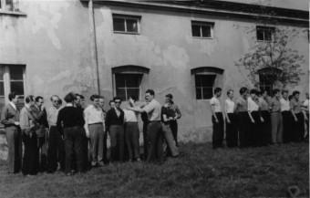 Otwarcie sezonu 1957 r. w parku 1-go Maja.