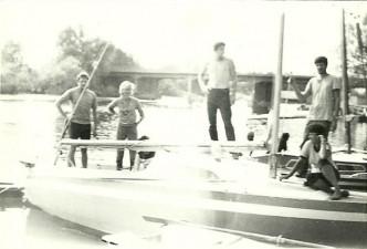 Mazury 1985, rejs na Piaście.