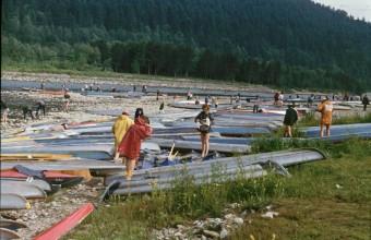 Międzynarodowy Spływ Kajakowy na Dunajcu 76