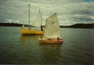 Obóz żeglarski w Tucznie 1996.