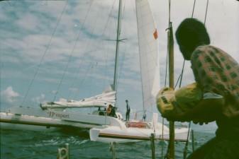Początek rejsu- Kanał Kiloński, Belgia i Atlantyk 1983
