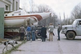 Przygotowania do wyjazdu- kwiecień 83