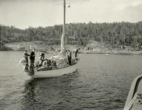 BORUTA w rejsie 1962, 63 i 70