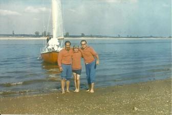 Rejs po Wołdze rok 1979.