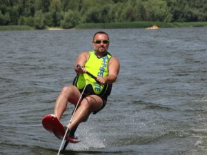 Latające krzesło i jet surf deska
